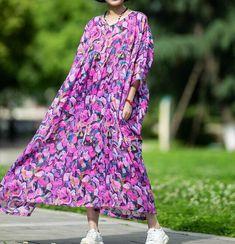 Women's oversized maxi dress, purple summer long dress, skater dress, cocktail dress, oversized Dress, party dress