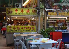 Jalan Alor Food Street, Kuala Lumpur, Southeast Asia.