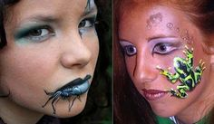 Lynne's FACEMAGIC Face Painter Body Artist Melbourne: 3D Body Painting