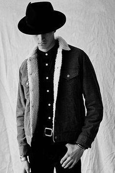 Deluxe 2015 Fall/Winter Lookbook Men's Fashion, Hypebeast, Fall Winter, Autumn, Denim, Chic, Boys, Jackets, Man Jeans