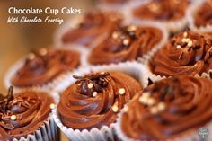 Chocolate Cup Cakes  Simple easy original chocolate cup cakes are moist light chocolate and topped with creamy buttercream frosting. These are not over powering like a dense chocolate fudge cake more like light airy chocolaty sweet cupcake. My dad wanted some cupcakes to  Read More  (Read more...)  Categories:  Cupcakes  Recipe  Tags: chocolate buttercreamChocolate Cup Cakescup cakeseasyrecipesimple  Cupcakes Recipe chocolate buttercream Chocolate Cup Cakes cup cakes easy recipe simple