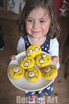 Despicable Me Cupcak