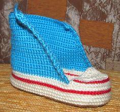 Ravelry: Crochet baby sneakers pattern by Schyrk