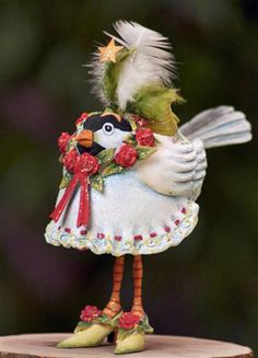Krinkles Chickadee Ornament Patience Brewster