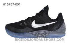 6cc4d52a37f9 Nike Zoom Kobe Venomenon 5 Black Grey Silver Authentic Jwpay