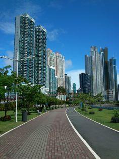 Cinta Costera. Ciudad de Panama.