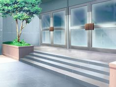 Portas do hospital 2d Game Background, Scenery Background, Cartoon Background, Video Background, Anime Backgrounds Wallpapers, Anime Scenery Wallpaper, Cute Backgrounds, Episode Interactive Backgrounds, Episode Backgrounds