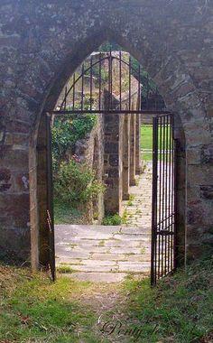 Bretagne - Clohars-Carnoët - Abbaye St Maurice