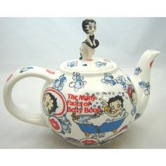 Betty Boop Teapot would be awesome to add to my collection. My other teapot is white with her and Pugsy. I wil have to pin a pic.