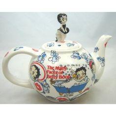Betty Boop Teapot