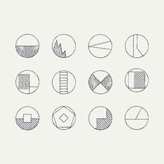 A collection of inspirational imagery from a digital designer. My Design Portfolio:. Portfolio Book, Portfolio Design, Eye Illustration, Illustration Styles, Happy Gif, Pencil Shading, Animation Reference, Basic Shapes, Abstract Lines