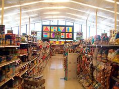 Clayton NJ ACME Grocery Aisle by JSF0864, via Flickr