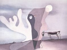 The Ram (The Spectral Cow) - Dali Salvador