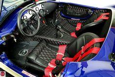 Car Interior Design, Car Interior Accessories, Car Interior Upholstery, Ford Shelby Cobra, Cobra Replica, Factory Five, 427 Cobra, Vintage Classics, Ford Gt