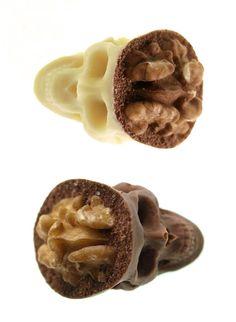 Culinary art ----> Chocolate Skulls Gone Nuts | Ruth & Sira Garcia
