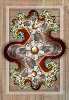 BuiltIn by on deviantART ~ fractal art Fractal Design, Fractal Art, Gothic Wallpaper, Fractal Geometry, Autumn Scenery, Art For Art Sake, Mandala Coloring, Wallpaper Backgrounds, Wallpapers