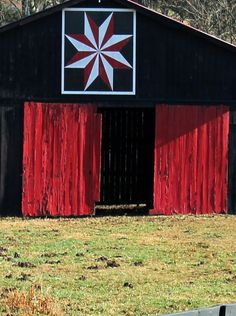 Black & Red Quilt Barn
