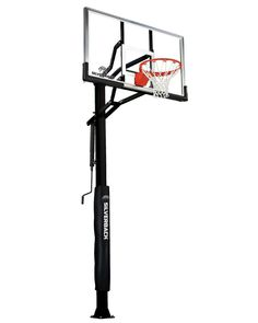Explore our collection of the best home in-ground basketball hoops, including regulation size and height adjustable hoops that provide professional-level performance. Basketball Systems, Basketball Goals, Basketball Hoop, Anchor Bolt, Anchor Systems, Basketball Backboard, Thing 1, Lowes Home Improvements, Rebounding
