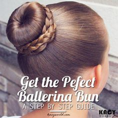 A step by step guide to get the perfect ballerina bun This article will give you a step by step process to get the utmost perfect ballerina bun which anybody can do at home easily. Ballet Hairstyles, Basic Hairstyles, Little Girl Hairstyles, Bun Hairstyles, Dance Hair Buns, Ballet Bun Tutorial, Little Girls Makeup, Ballerina Hair, Perfect Bun