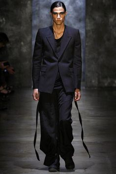 Alexandre Plokhov Spring 2013 Menswear Fashion Show