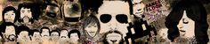 Illustration créée pour un club. Imprimée et collée sur le mur du club.   Illustration created for a nightclub.  it has been printed on paper and stuck on a wall in the nightclub.   Realisation: Frédéric Studer - L'Usina-Idées    #illustration #music #nightclubbing #wallpaper #justice #kooltheGang #daftPunk #davidGuetta #juanAtkins #madonna #joachimGarraud #afrikaBambaataa #globull #switzerland