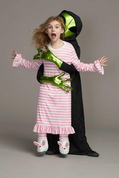 Alien Abduction Costume for Girls: #Chasingfireflies $89.00