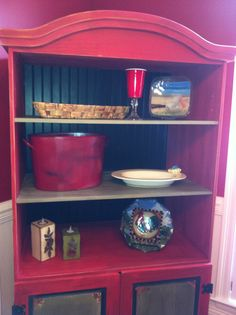 Top of cabinet, doors almost done! Beadboard added, shelf added, and then time to accessorize!