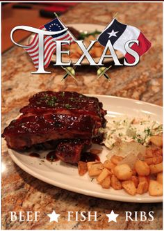 TEXAS - Restaurant - Beef, Fish, Ribs -
