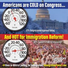 Immigration Reform is supported by the American people.