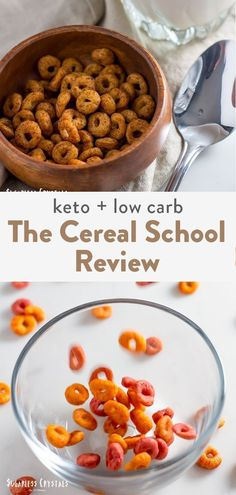 The cereal school keto cereal review. There are a few store bought brands now along with recipes online. I hope you aren't using pork rinds still. But I dive into the flavors because the reviews have been questioned. Slow Cooker Recipes, Low Carb Recipes, Dog Food Recipes, Dessert Recipes, Keto Desserts, Chicken Recipes, Dinner Recipes, Low Carb Cereal, Keto Cereal