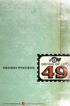 """A clerk popped up from behind the desk where he'd been sleeping and began making sign language at her. Oedipa considered giving him the finger to see what would happen."" - Thomas Pynchon, The Crying of Lot 49"