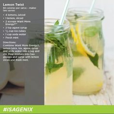 Magnificent Isagenix Drinks to tempt your taste buds! Goat Cheese Recipes, Goat Cheese Salad, Green Bean Salads, Green Bean Recipes, Isagenix Shakes, Shake Recipes, Drink Recipes, Gourmet Recipes, Healthy Recipes