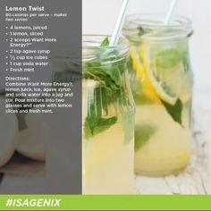 isagenix drink recipes