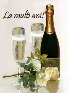 Happy Birthday Greetings Friends, Happy New Year 2020, Flower Arrangements, Bottle, Tableware, 8 Martie, Celebrations, Easter, Happy Brithday