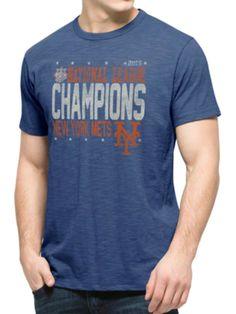b425b349d New York Mets 47 Brand 2015 National League Champions Scrum T-Shirt