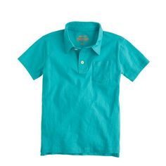 J.Crew - Boys' jersey polo shirt: $26.50, available in sizes 2 to 16 years. J.Crew: $$, local Cville franchise & online