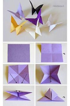 Origami Vogel Falten Deko Origami Origami Bird Und Origami Diagrams