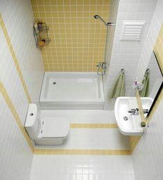 Photos of Small Bathroom Decorations [Slideshow] - Badezimmer Small Shower Room, Small Bathroom Layout, Small Showers, Modern Bathroom Design, Bathroom Interior Design, Bath Design, Small Bathroom Plans, Very Small Bathroom, Rustic Bathroom Designs