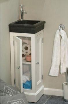Idée de petit rangement pour les wc