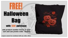 FREE #KleinTools #Halloween tote bag with $50 purchase at www.kleinconnection.com!