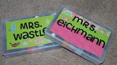 Madsens Memories....: Thank you binder and teacher gifts...