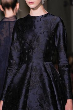 Funereal but if someone gave it to me I'd still wear it and feel happy. (Valentino)