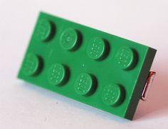 Lego hair clip
