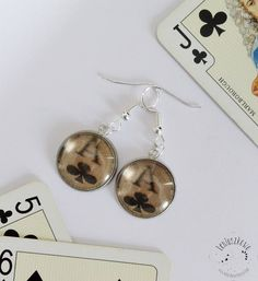Drop Earrings, Personalized Items, Handmade, Jewelry, Hand Made, Jewlery, Jewerly, Schmuck, Drop Earring