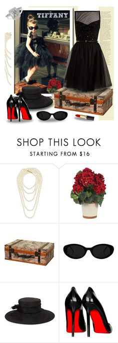 """""""Bring Breakfast, please.."""" by sara-cdth ❤ liked on Polyvore featuring Chanel, Nearly Natural, Vintiquewise, Giovannio and Elie Saab"""