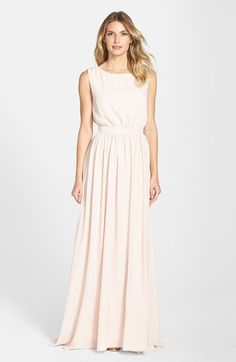 Paper Crown by Lauren Conrad 'Tori' Crepe Bridesmaid Gown