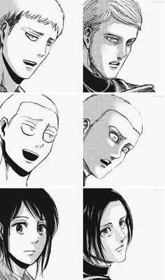 Jean Kirschtein, Connie Springer and Sasha Blouse Mikasa, Armin, Ereri, Levihan, Attack On Titan Jean, Connie Springer, Noragami, Me Me Me Anime, Tokyo Ghoul