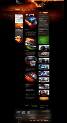 Szablon allegro Creativehead by webdesigner1921.deviantart.com on @deviantART