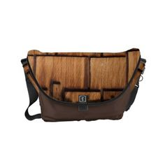 WEATHERED SHINGLES SMALL MESSENGER BAG - accessories accessory gift idea stylish unique custom