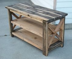 I think I'm going to rent the tools and really try this! Rustic X Console